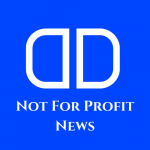 """DD Logo with the text """"Not for Profit News"""" underneath"""